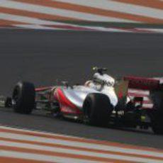 Lewis Hamilton espera tener un buen resultado en India