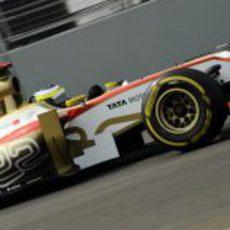 Pedro de la Rosa saldrá 22º en el GP de India 2012