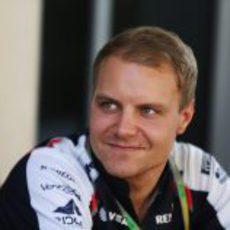 Valtteri Bottas en el GP de Abu Dabi 2012
