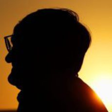 Bernie Ecclestone en Abu Dabi 2012
