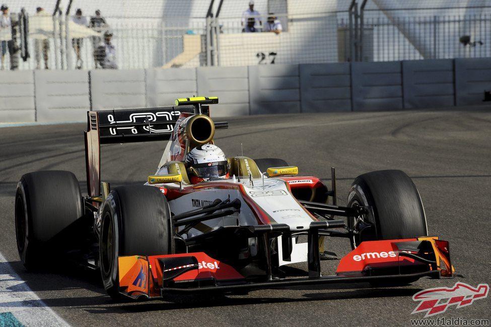 Ma Qing Hua rueda por tercera vez con el F112