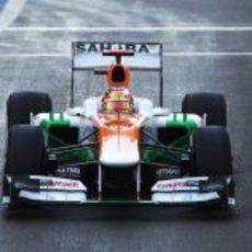 Jules Biancho rodó con el VJM05 en Yas Marina