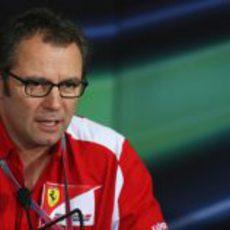 Stefano Domenicali en la rueda de prensa de la FIA en India