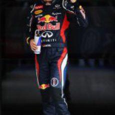 Sebastian Vettel hace la 'pole' en India