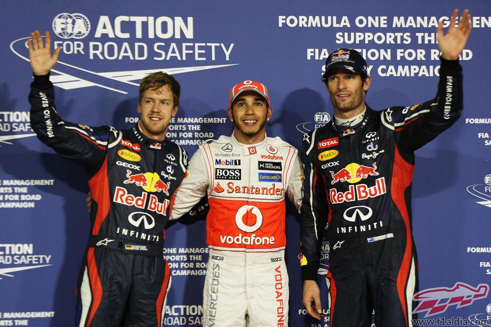 Lewis Hamilton y los chicos de Red Bull, los más rápidos el sábado en Abu Dabi