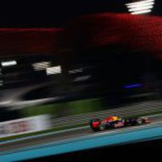 Sebastian Vettel busca otra 'pole' en Yas Marina 2012