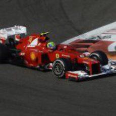 Felipe Massa clasificó noveno en Abu Dabi