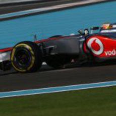Lewis Hamilton logró su pole 25ª en Abu Dabi