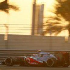 Jenson Button quedó decepcionado tras la clasificación en Abu Dabi