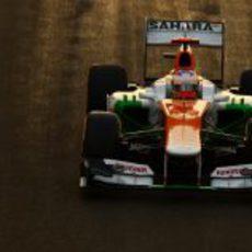 Paul di Resta no logró pasar a la Q3 en Abu Dabi