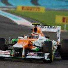 Nico Hülkenberg estuvo a punto a entrar en la Q3 en Abu Dabi