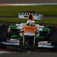 Paul di Resta terminó noveno el GP de Abu Dabi 2012