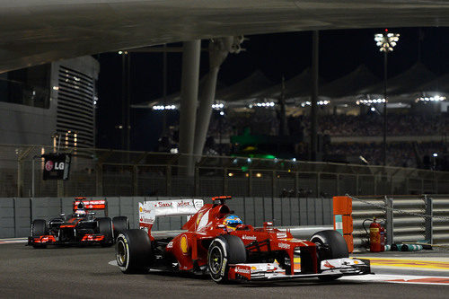 Fernando Alonso termina segundo en Abu Dabi