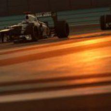 Kamui Kobayashi terminó en los puntos en Abu Dabi