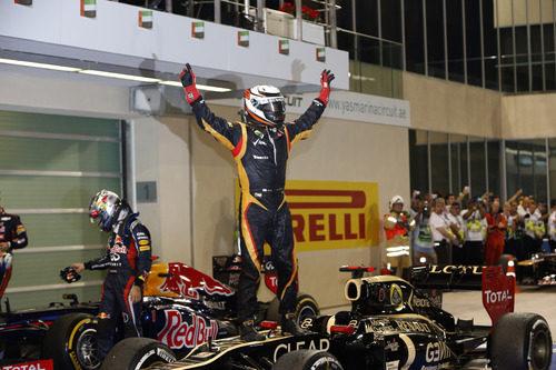 Kimi Räikkönen triunfó en el GP de Abu Dabi 2012