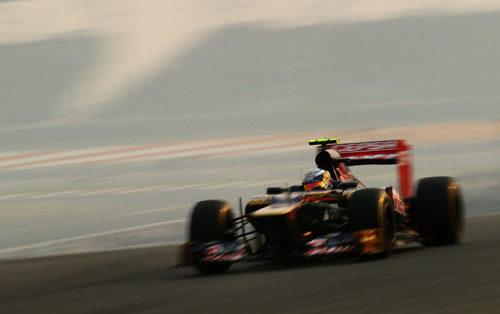 Jean-Eric Vergne rueda en el GP de India 2012