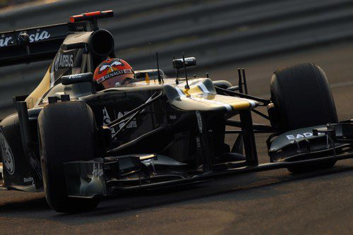 Heikki Kovalainen logró para Caterham un 18º puesto en India