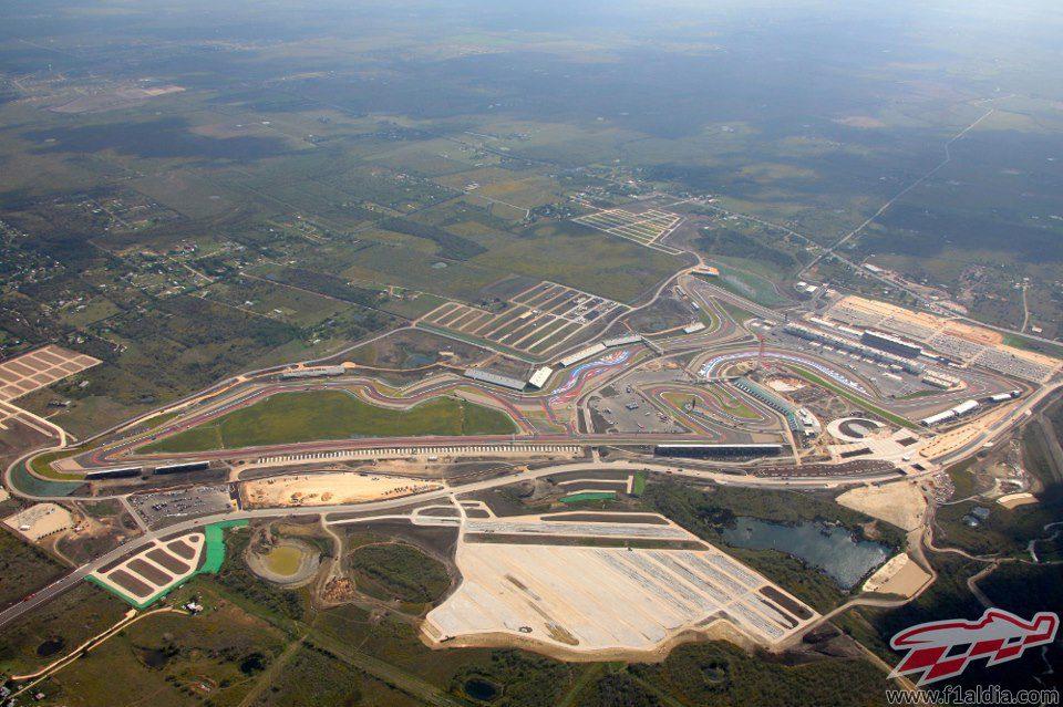 Circuito De Las Am 233 Ricas F1 Al D 237 A