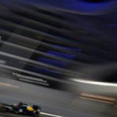 Vitaly Petrov exprime el CT01 en los Libres 2 del GP de Abu Dabi 2012