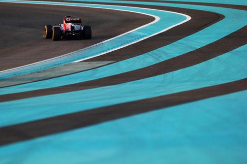Daniel Ricciardo consigue un punto en el GP de Abu Dabi 2012