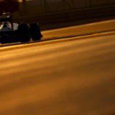Pastor Maldonado conduce el FW34 en la clasificación de Abu Dabi