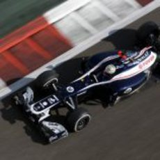 Pastor Maldonado logró una buena cuarta posición en la Q3 de Abu Dabi