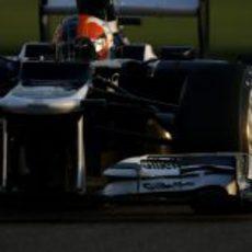 Bruno Senna prueba los blandos en los Libres 3 de Abu Dabi