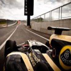 Salida de boxes del Circuito de las Américas