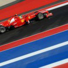 Felipe Massa en el Circuito de las Américas