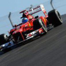Fernando Alonso se estrena en el Circuito de las Américas