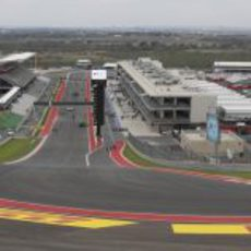 Curva 1 del Circuito de las Américas