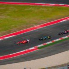 Alonso, Petrov y Vergne en los libres del Circuito de las Américas