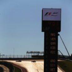 Salida de boxes del GP de Estados Unidos 2012