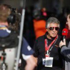 Martin Brundle entrevista a Mario Andretti