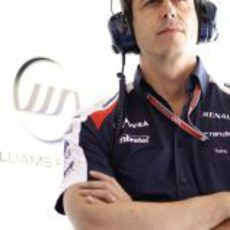 Toto Wolff en el box de Williams
