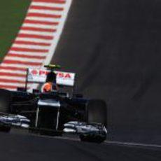 Bruno Senna en Estados Unidos