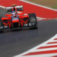 Charles Pic debuta en Estados Unidos en Fórmula 1