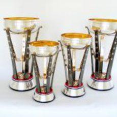 Los trofeos del Gran Premio de Estados Unidos