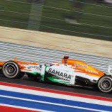 Paul di Resta rueda con los medios en el Circuito de las Américas
