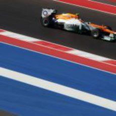 Nico Hülkenberg se estrena en el circuito de Austin