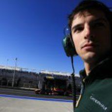 Alexander Rossi estará con Caterham durante el fin de semana en Austin