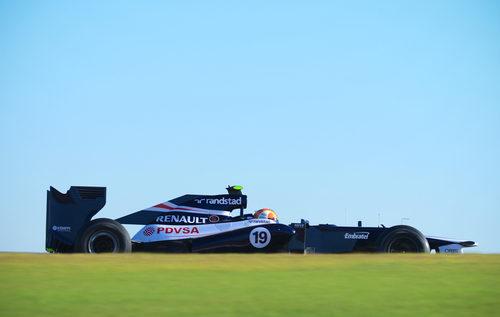 Bruno Senna rodando en Estados Unidos