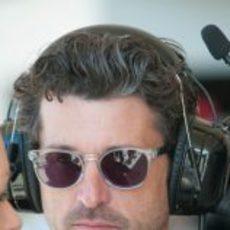 Patrick Dempsey, amante de la Fórmula 1