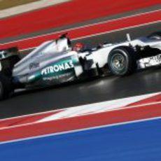 Michael Schumacher fue sexto en la clasificación de Estados Unidos