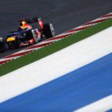 Sebastian Vettel logró la 'pole' en Estados Unidos 2012