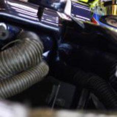 Refrigeración en el FW34 de Pastor Maldonado