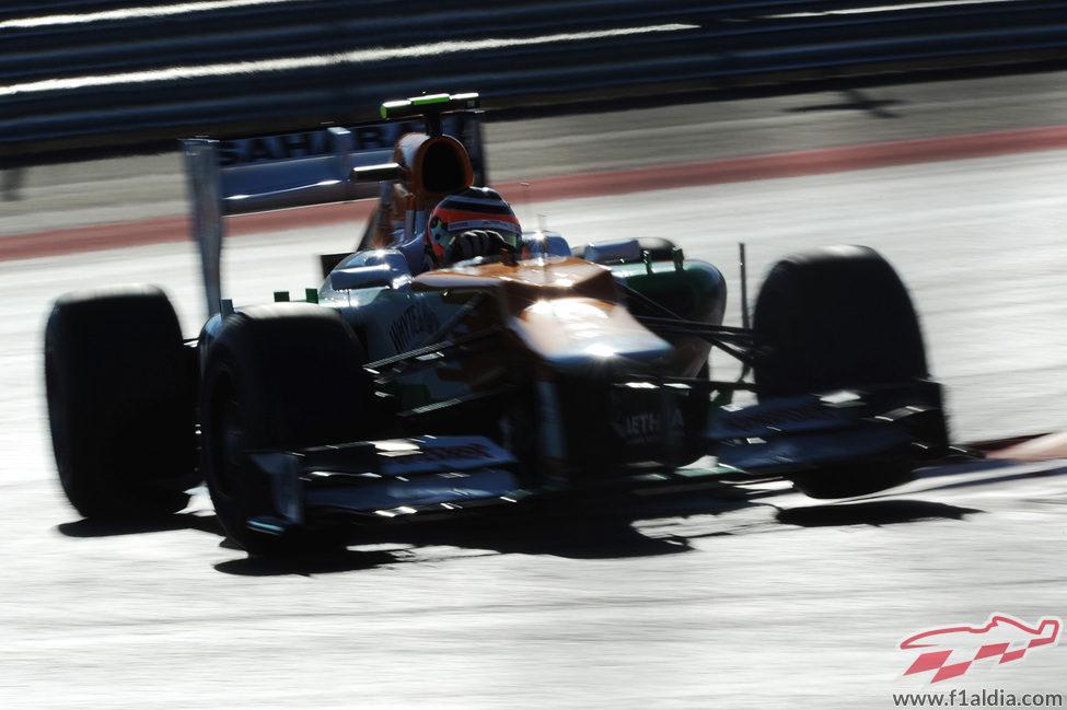 Nico Hülkenberg en los terceros libres
