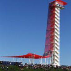 La torre del Circuito de las Américas