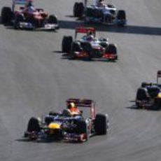 Los Red Bull lideran el GP de Estados Unidos 2012