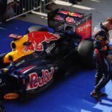 Sebastian Vettel, disgustado tras no ganar en Austin
